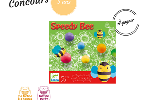 concours enfants jeu de couleurs speedy bee djeco. Black Bedroom Furniture Sets. Home Design Ideas