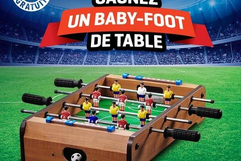 baby foot a gagner